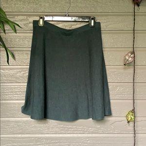 Tahari Knit Blue-Green Skirt 🦚